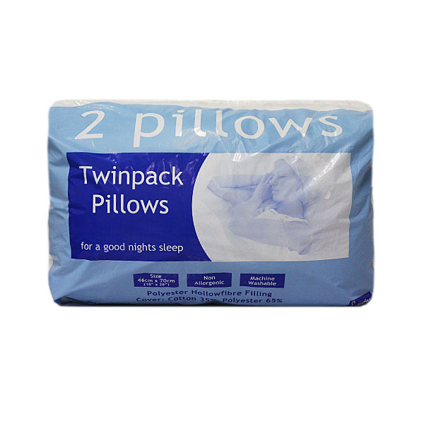 Luxury Pillow (Twin Pack)