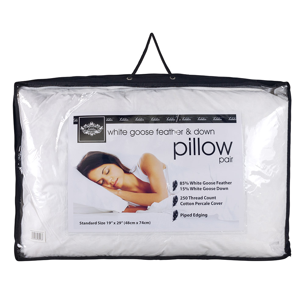 Luxury Goose Down Feather Pillow