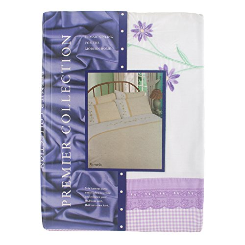 Embroidered  Flower Quilt Cover Set