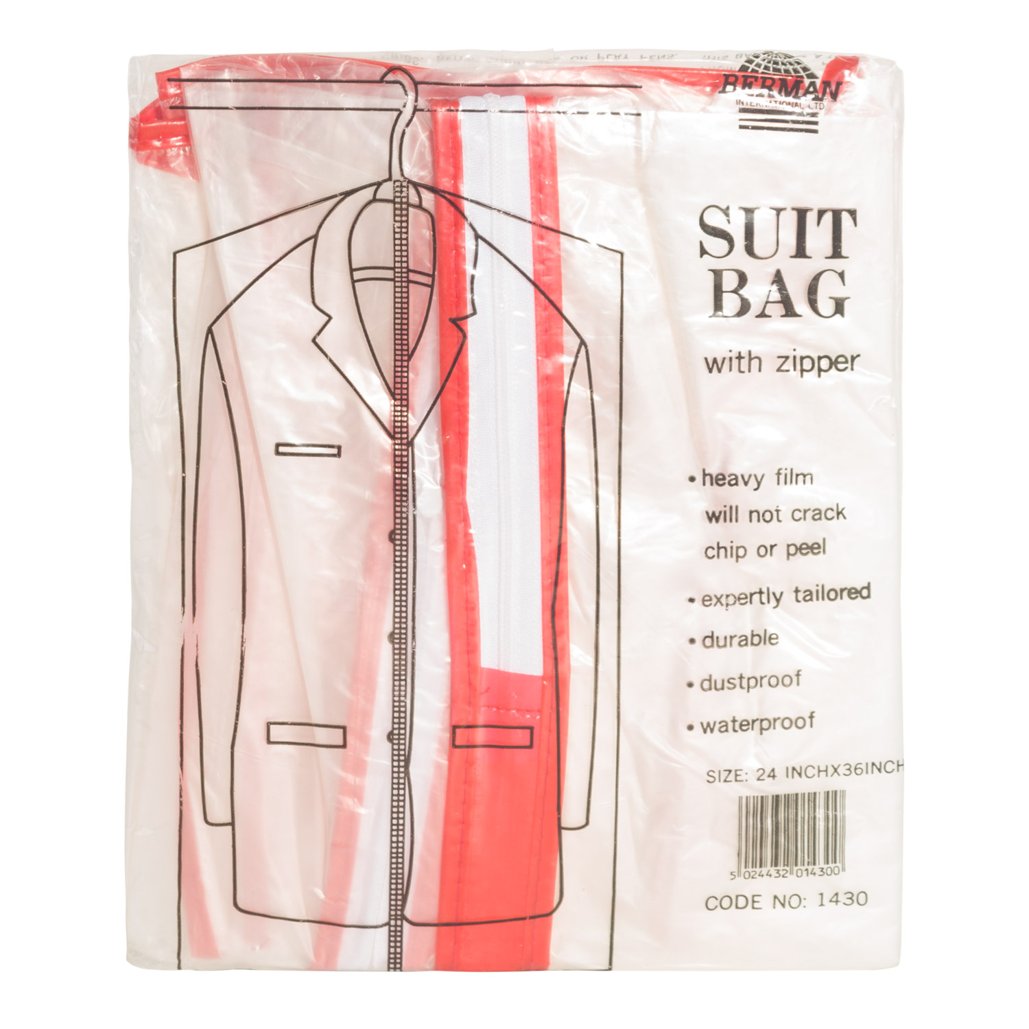 SINGLE PACK SUIT BAG