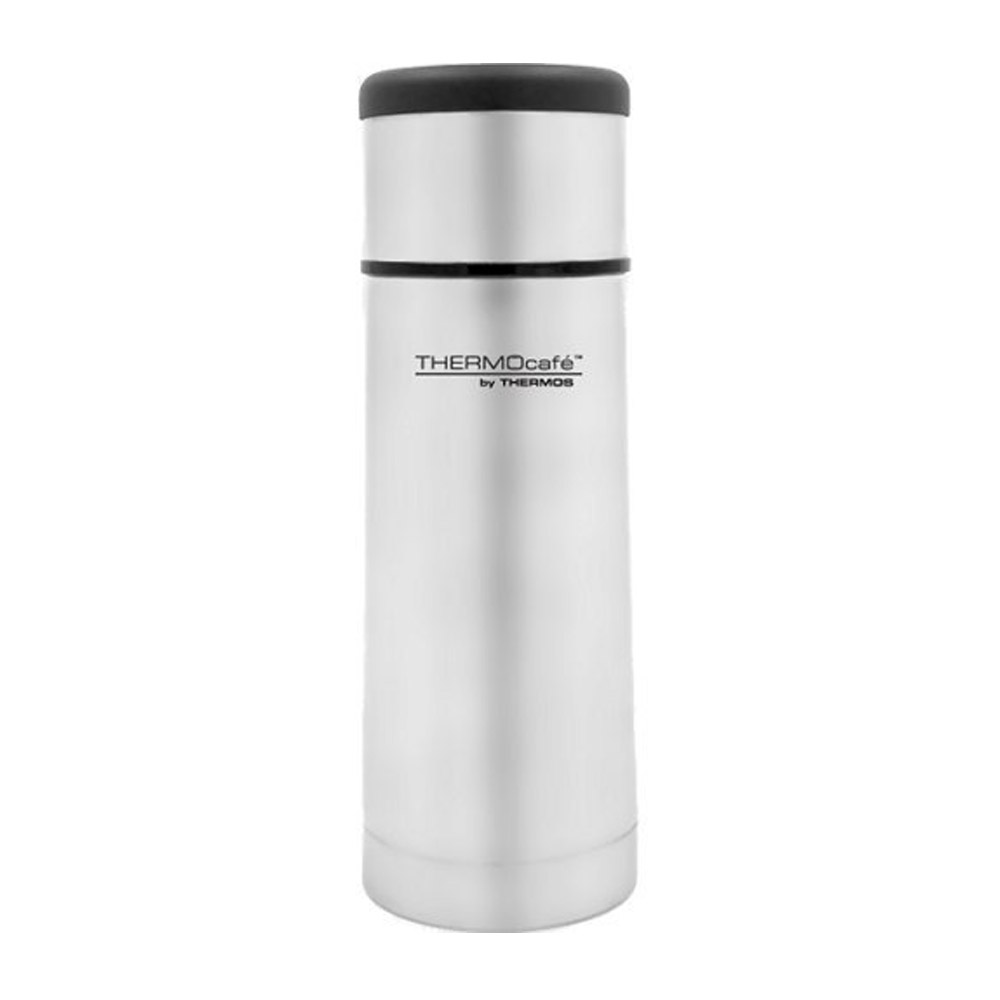 ThermoCafe Flat Top Stainless Steel Flask