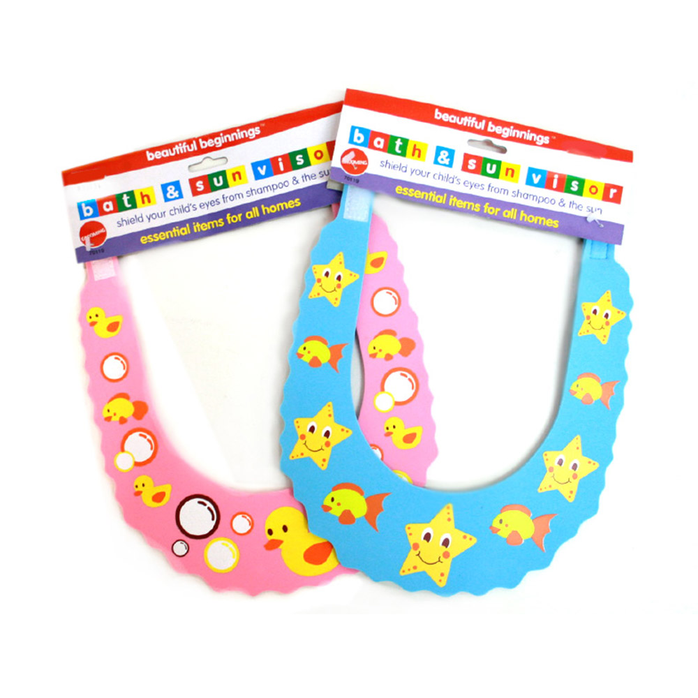 Beautiful Beginnings Kid's Bath & Sun Visor
