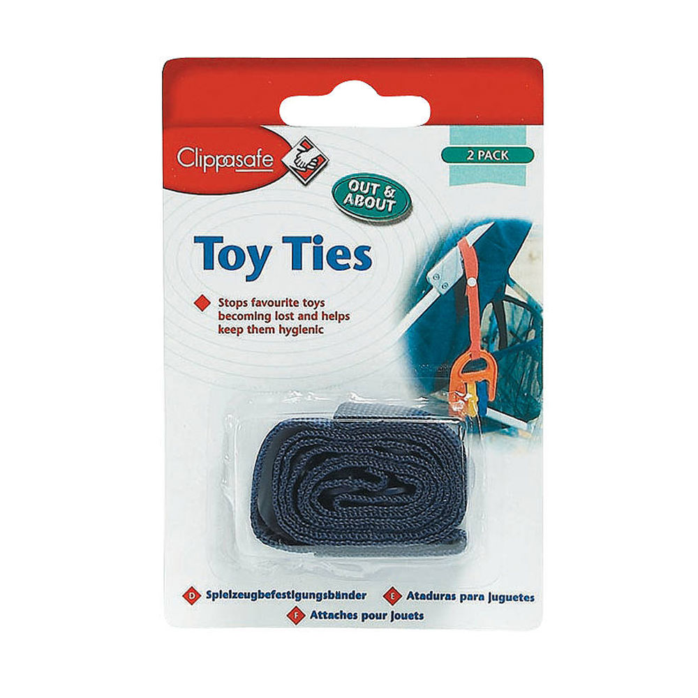 Clippasafe Toy Ties 2 Pack