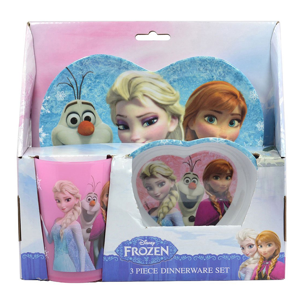 Frozen Heart Dinnerware Set
