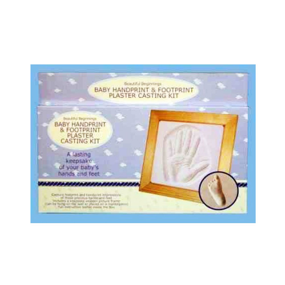 Baby First Hand And Footprint Mould Kit