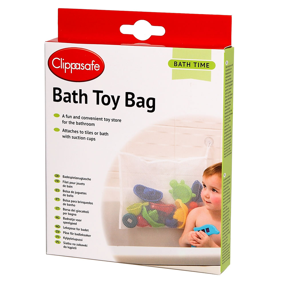 Clippasafe Bath Toy Bag