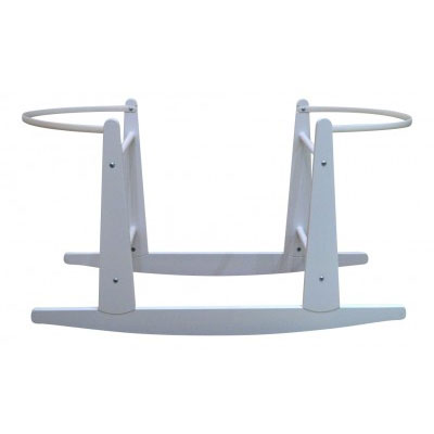Eco Rocking Wooden Moses Basket Stand