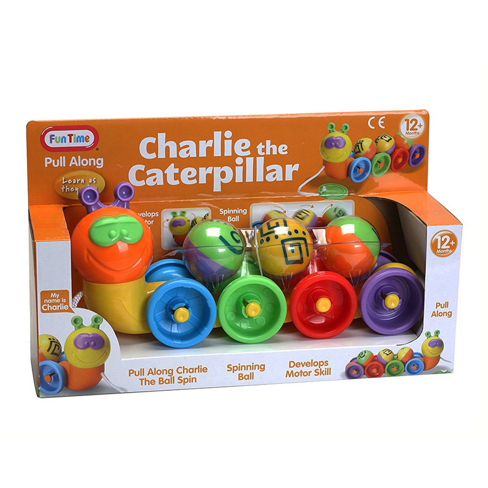 Fun Time Charlie the Caterpillar Activity Toy