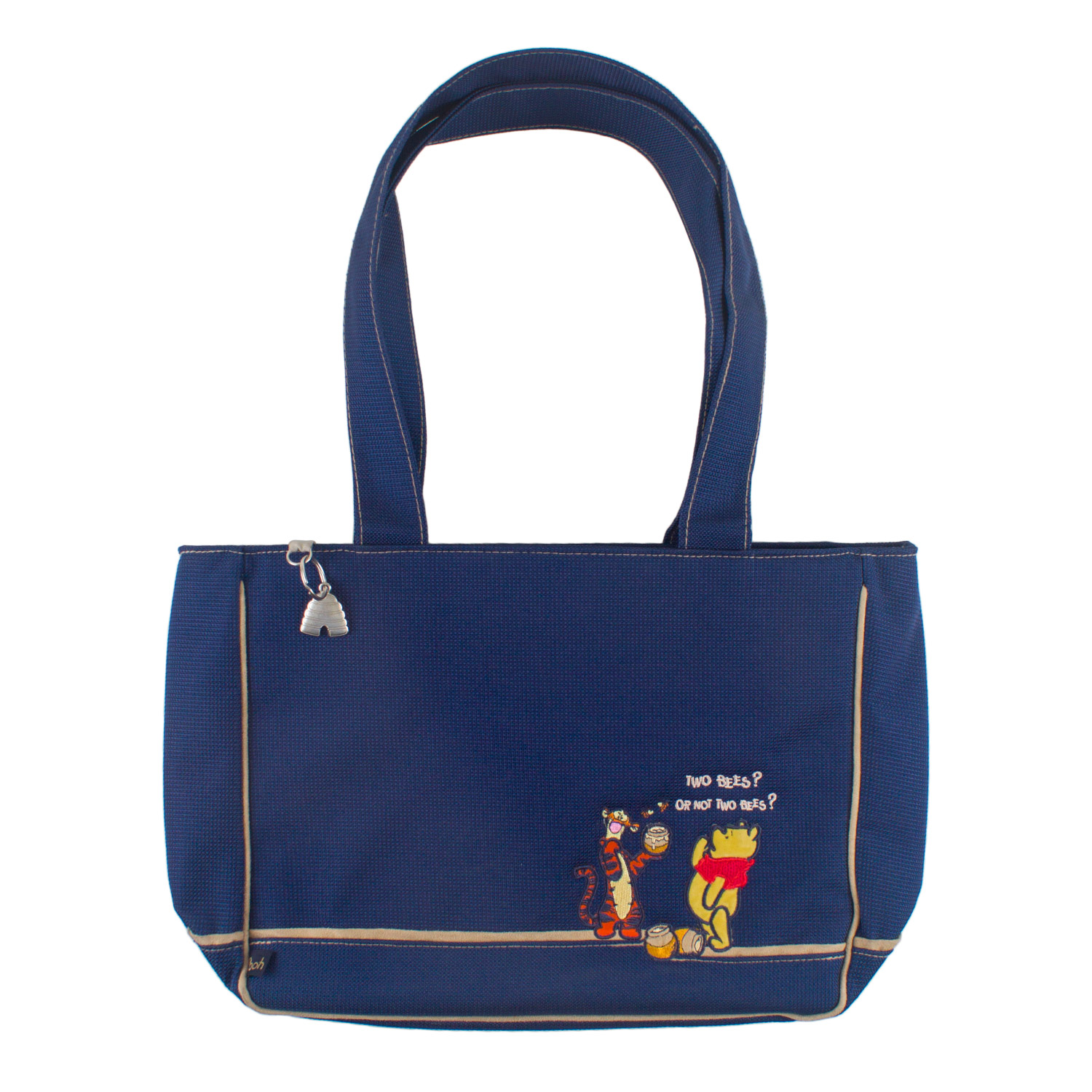 Character Denim Canvas Shopping Bag