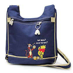 Character Denim Canvas Body Bag