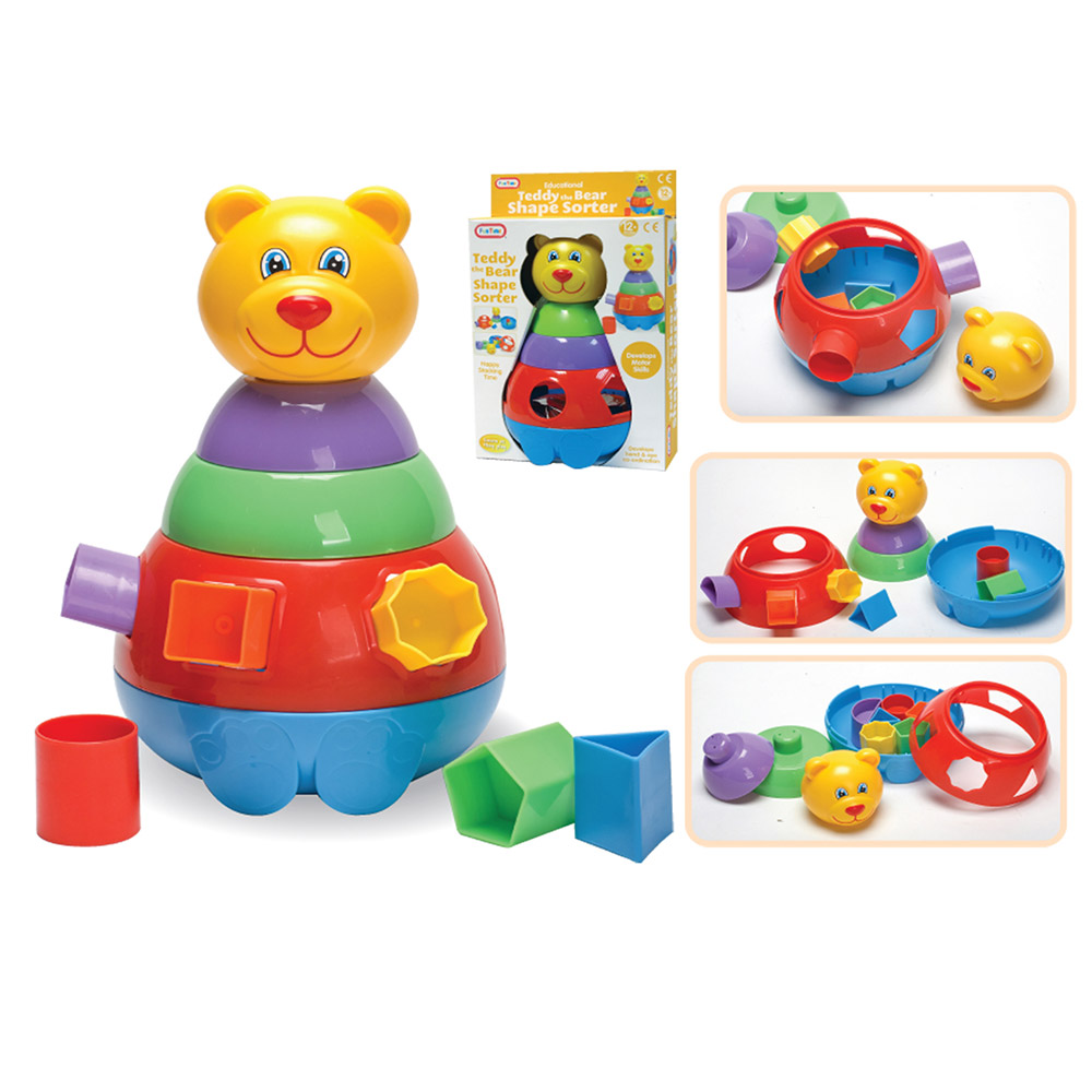 Funtime Teddy Bear Shape Sorter