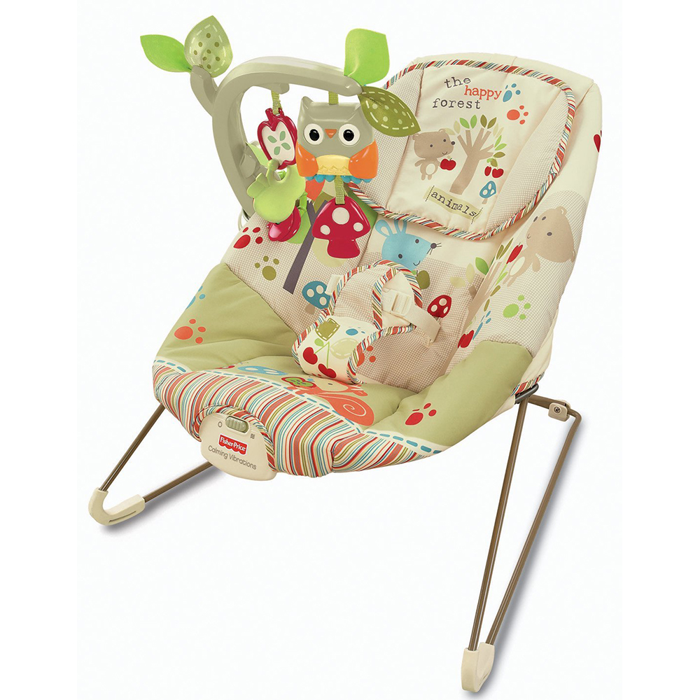 Fisher Price Wood Comfy Time Bouncer