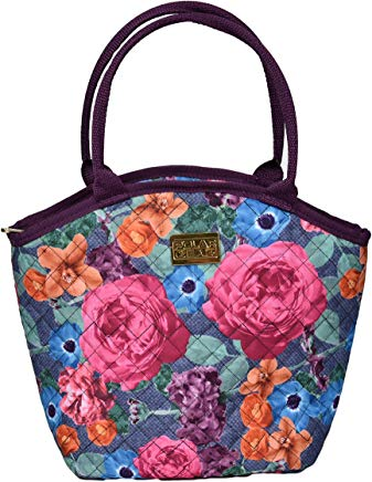 Polar Gear Deep Blooms Venice Lunch Tote