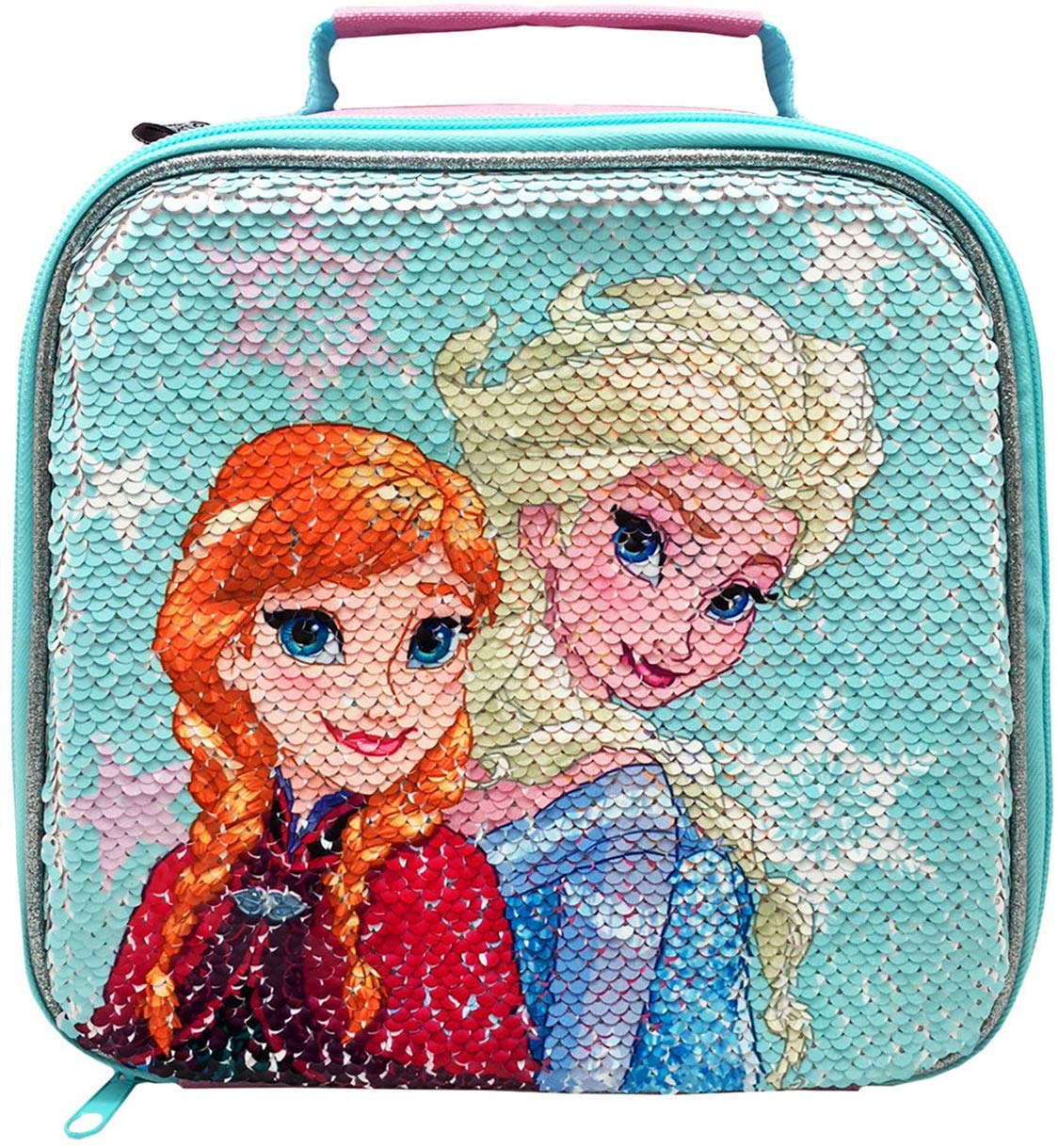 Frozen 2 Shimmer Sequin Lunch Bag