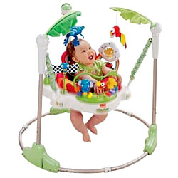 Fisher Price Deluxe Jumperoo Rainforest