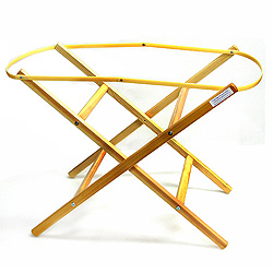 Wooden Folding Moses Basket Stand