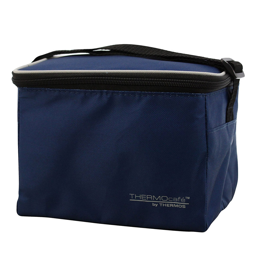 ThermoCafe Navy 6 can Individual Cool Bag