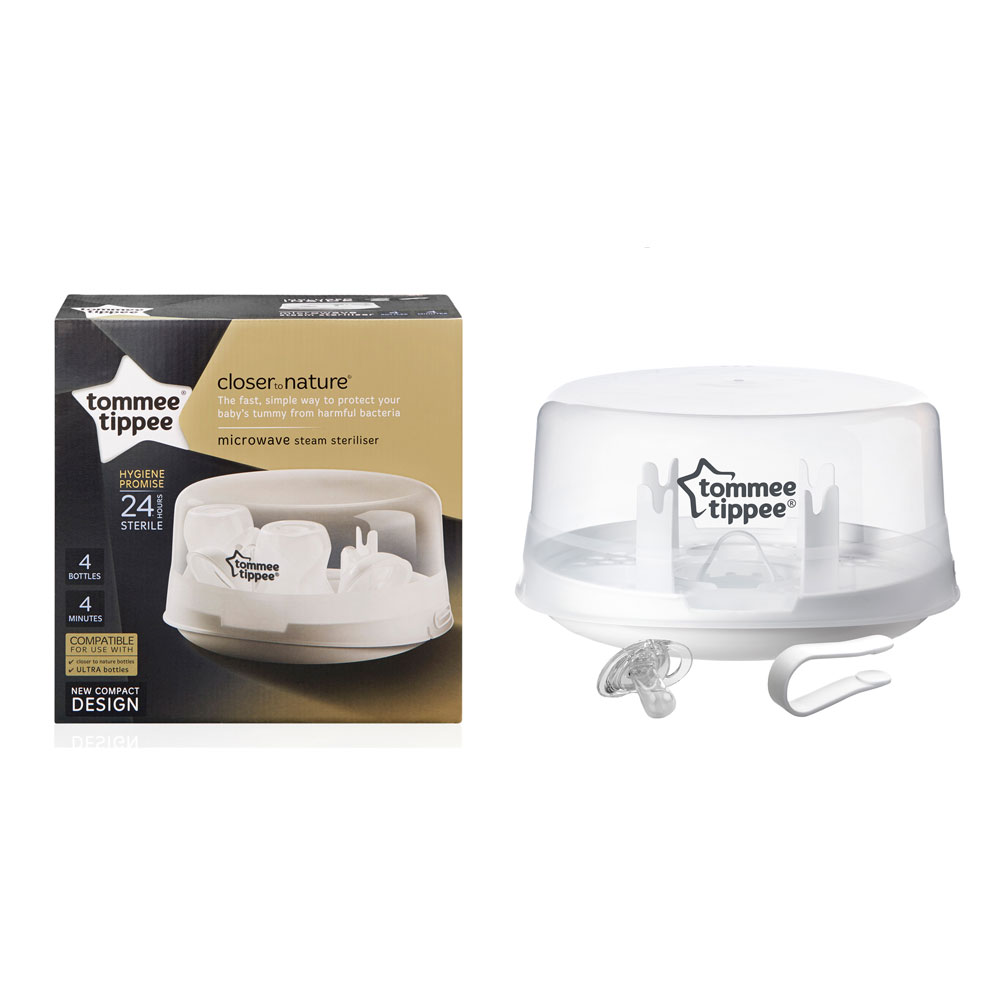Tommee Tippee Closer to Nature Easi-Vent Microwave Steriliser