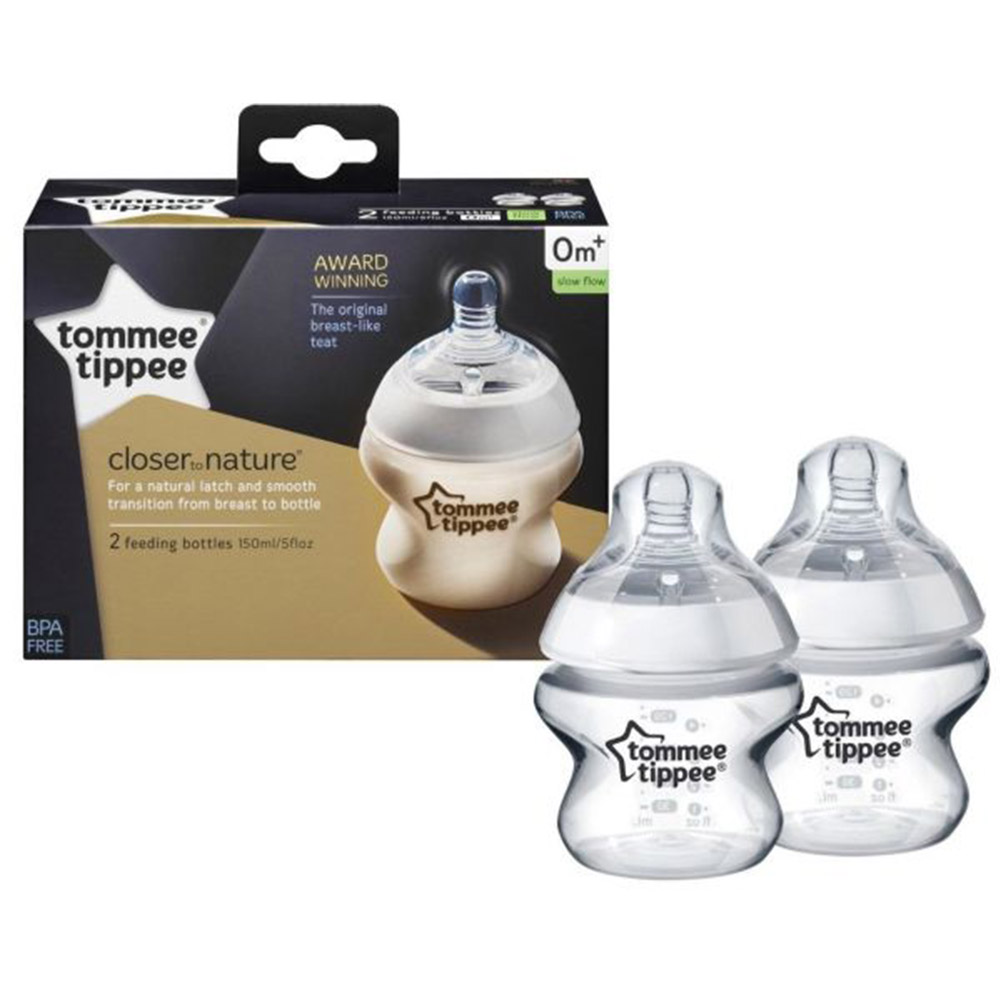 Tommee Tippee close to nature 150ml (2 Pack)