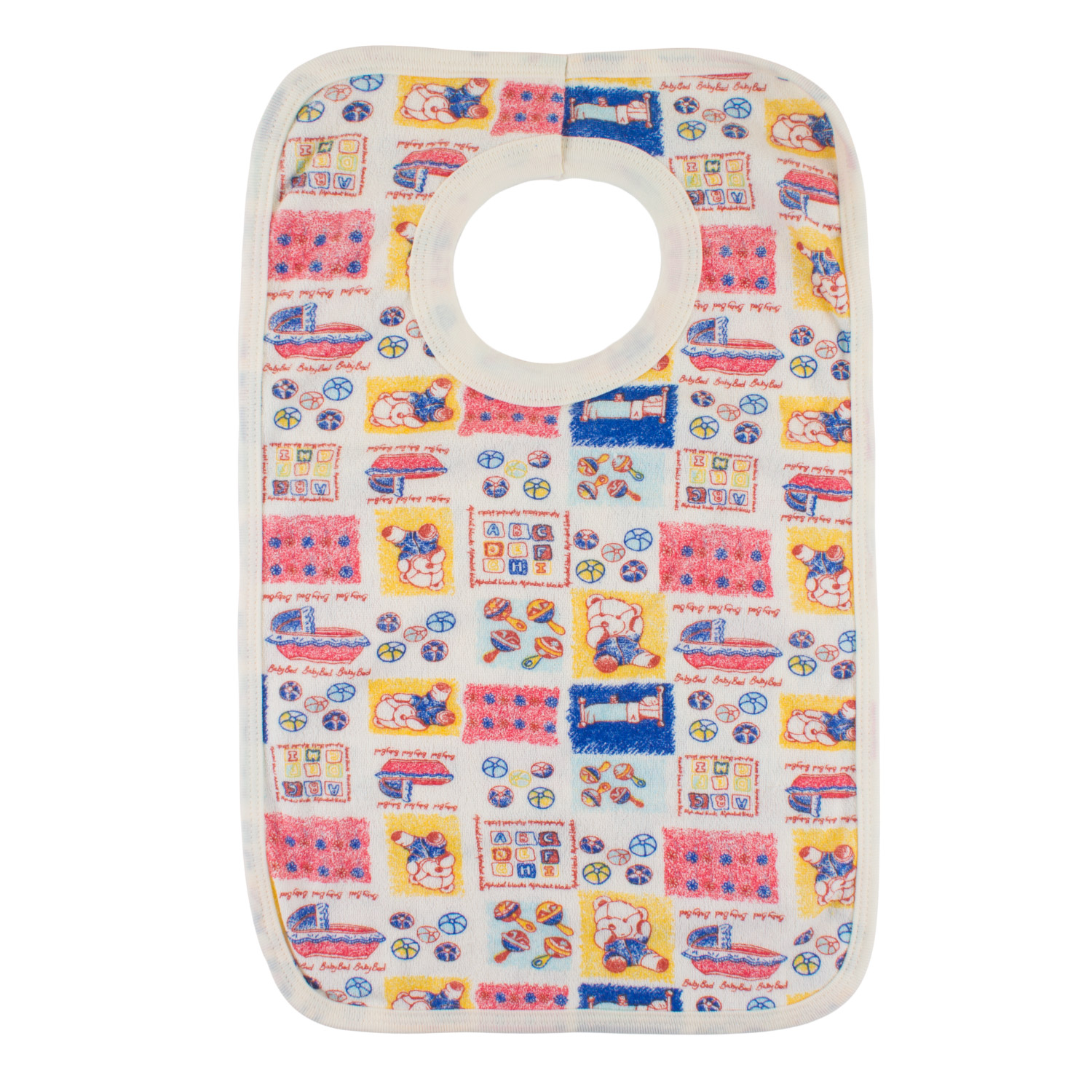 Junior Joy Pop Over Printed Bibs
