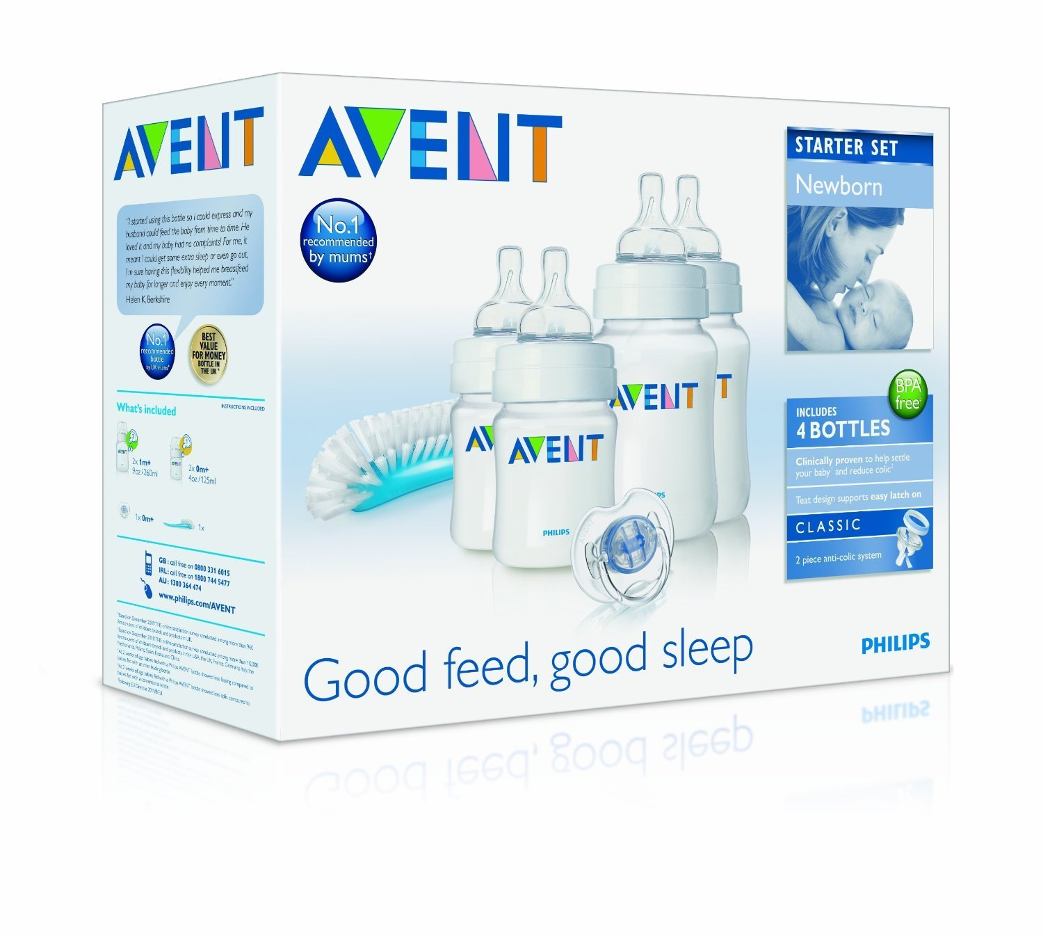 how to clean avent electric steriliser