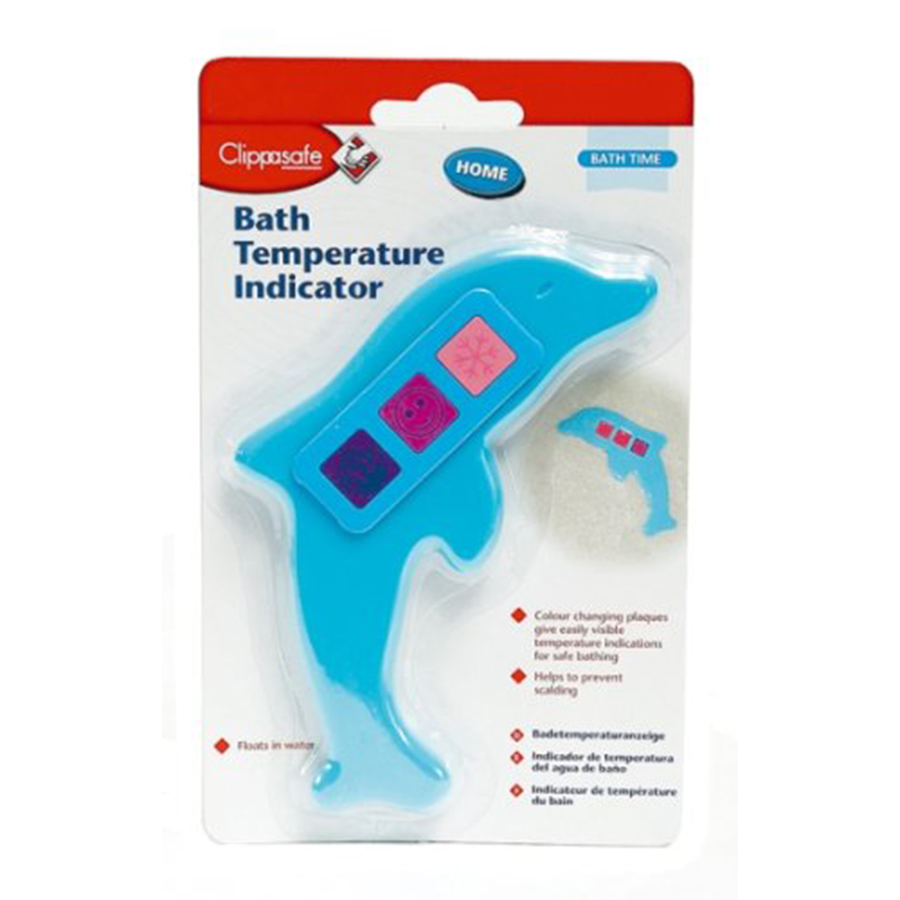Clippasafe Dolphin Bath Thermometer