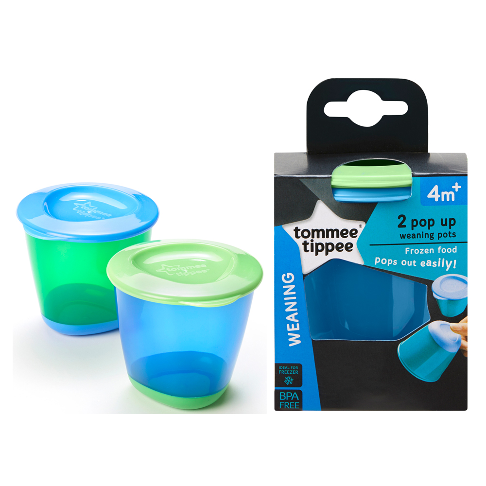 Tommee Tippee Explora Pop Up Weaning Pots