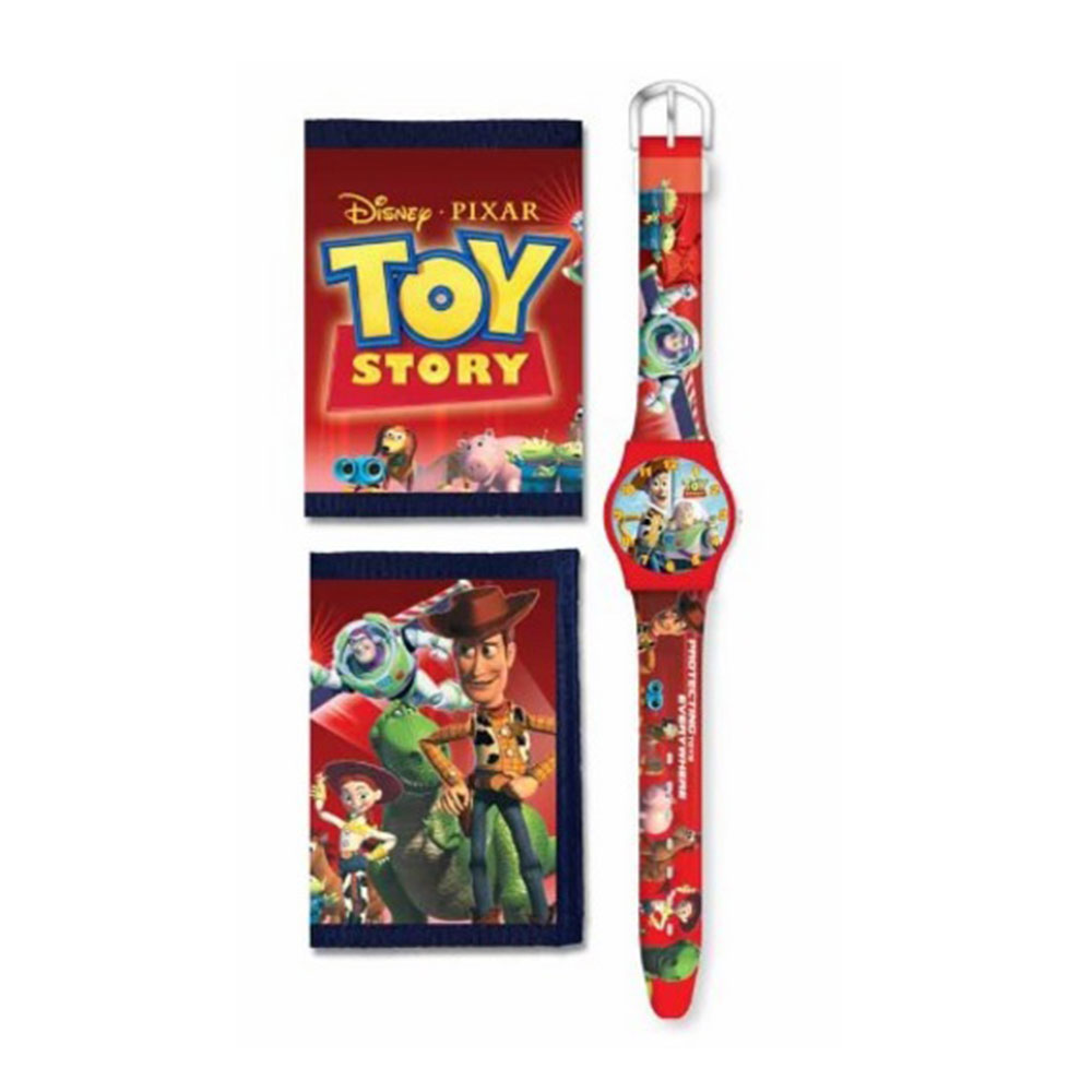 Character Watch & Wallet Set