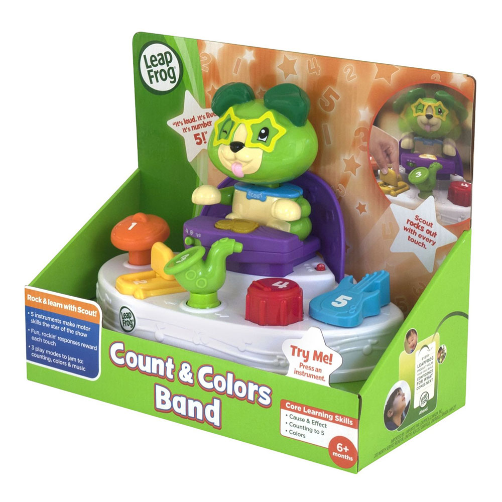 LeapFrog Scout's Count & Colors Band