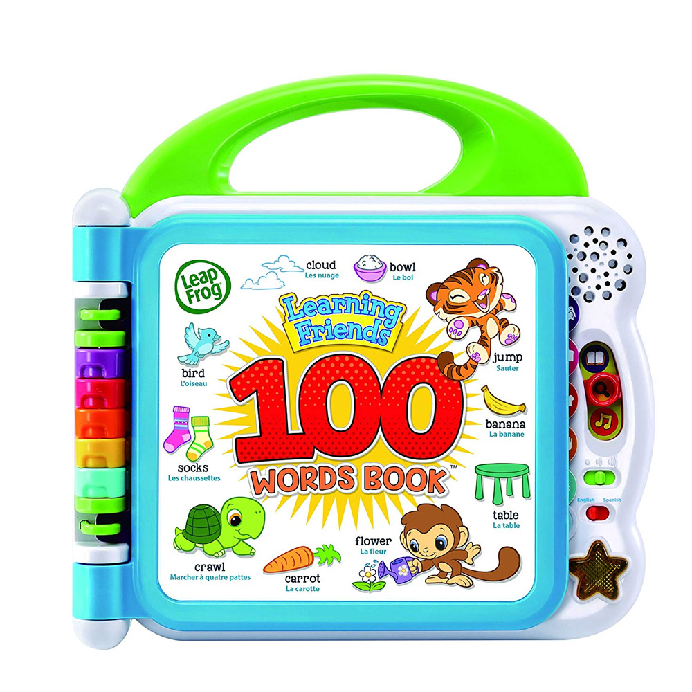 LeapFrog Friends 100 Words Book Learning Toy