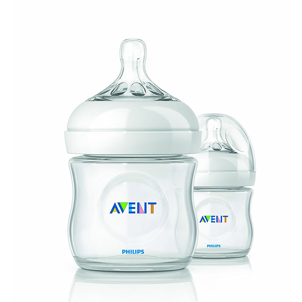 Avent Natural Feeding Bottle (Twin Pack)