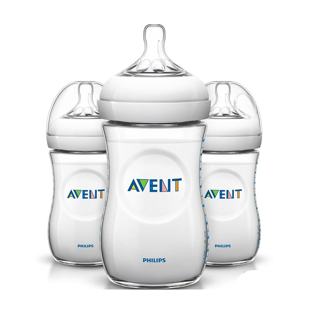 Special Avent Natural Feeding Bottle (Triple Pack)