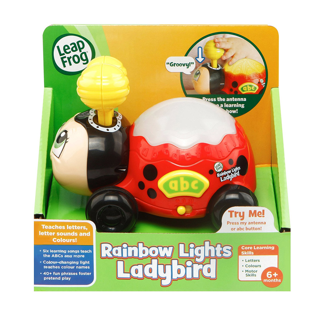 LeapFrog Rainbow Lights Ladybird Toy