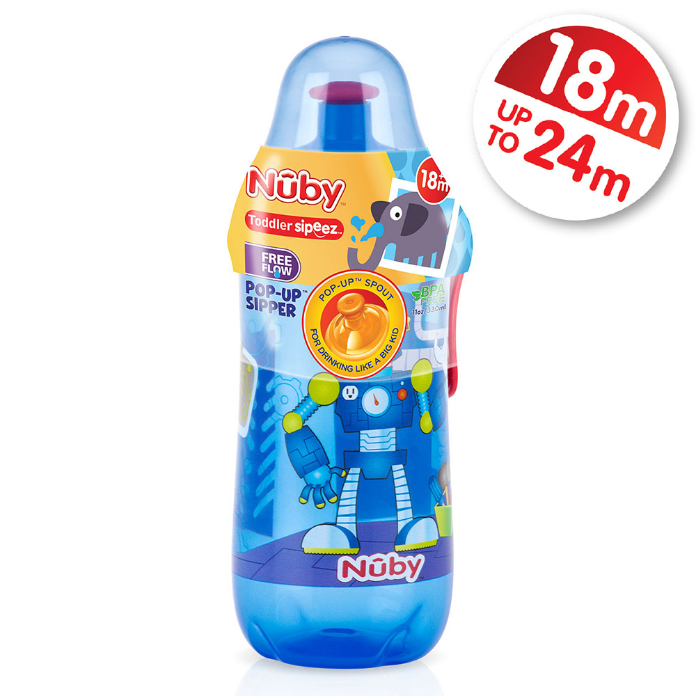 Nuby Busy Sipper Pop Up Spout