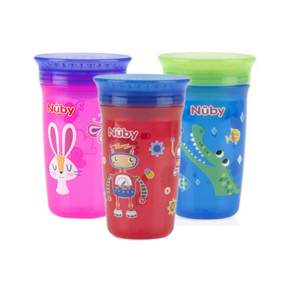 Nuby 360 Maxi No Spill Cup 300ml (12m+)