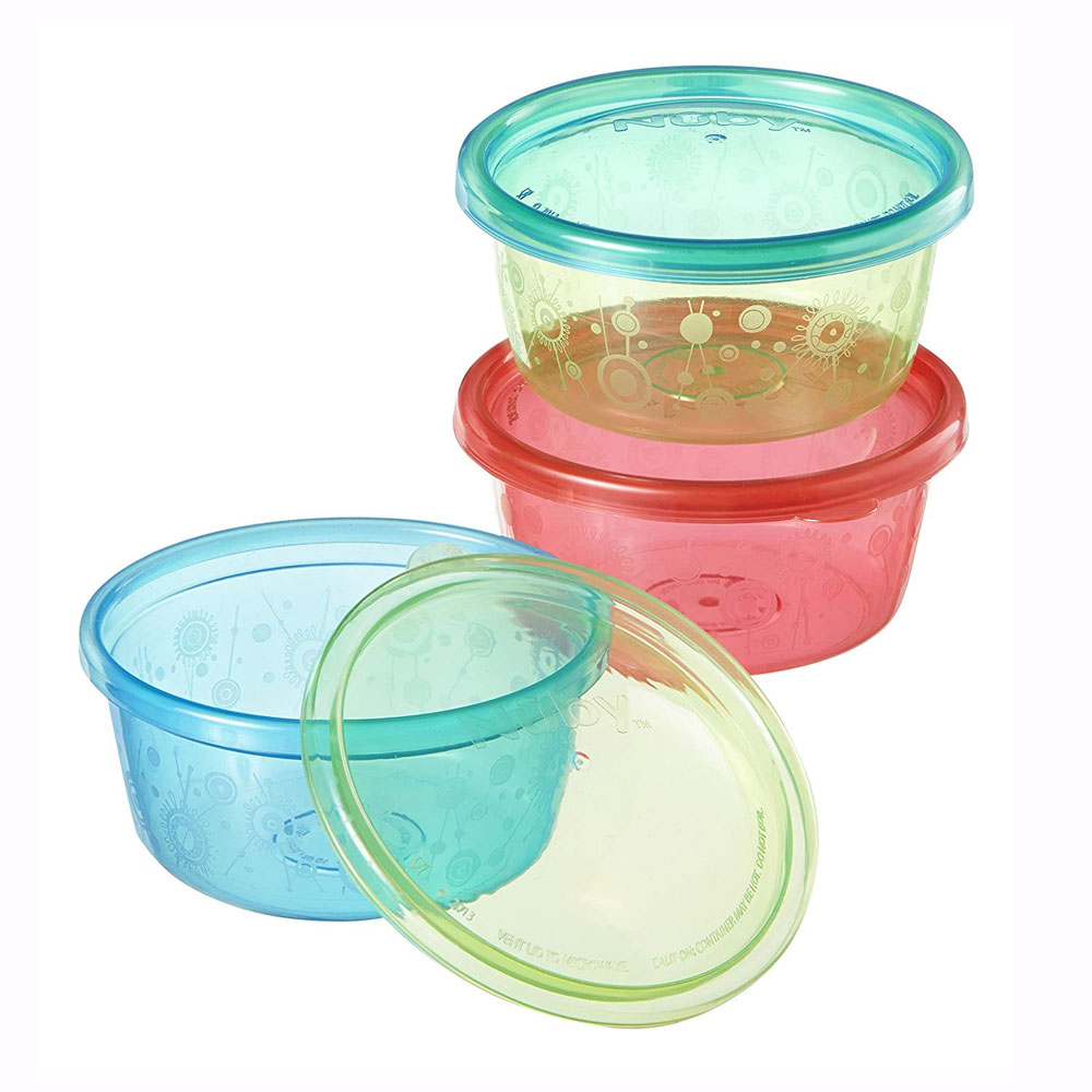Stackable Bowls With Lids