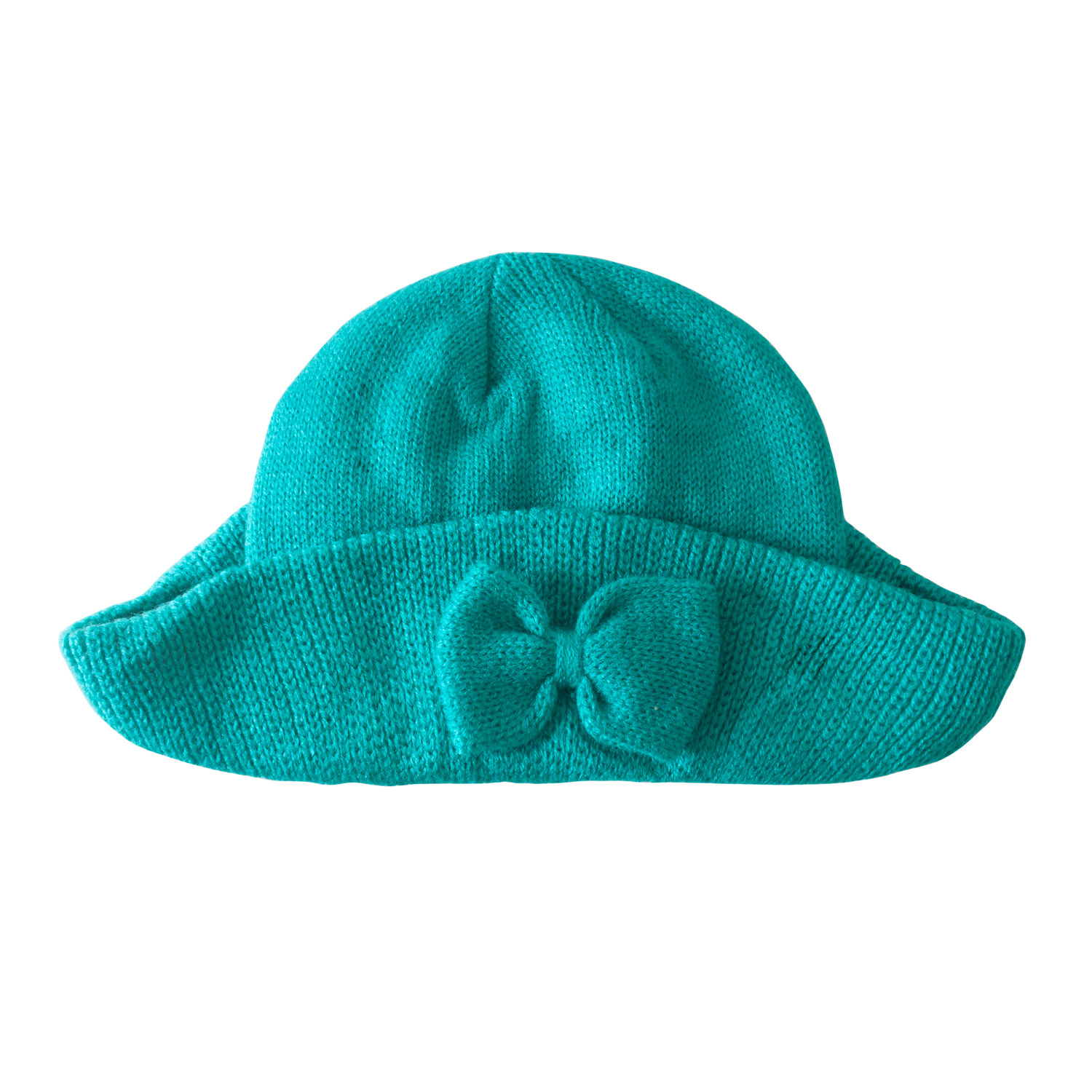 Girl's Floppy Brim Bow Hat