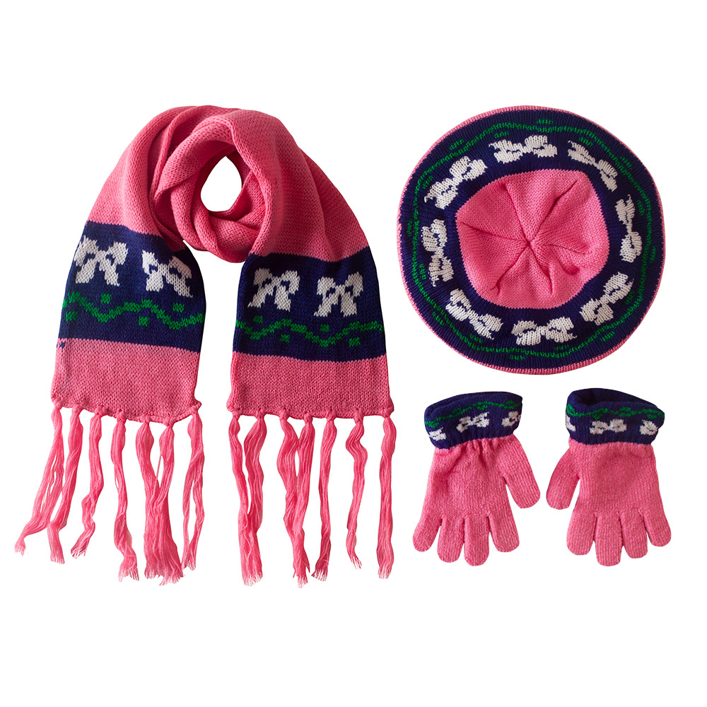 Child Berrie, Scarf and Gloves Set