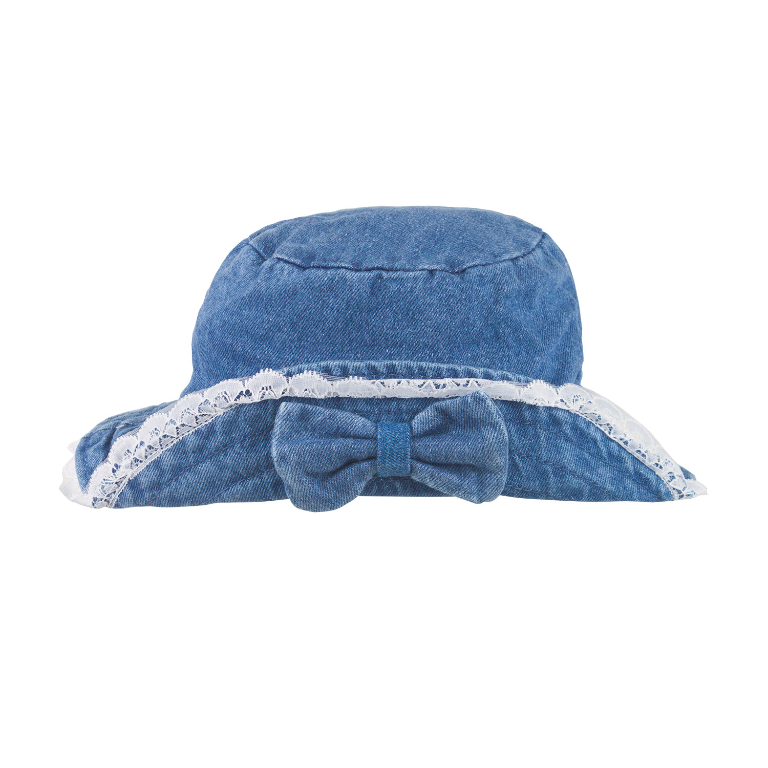 Girl's Denim Paddington Hat