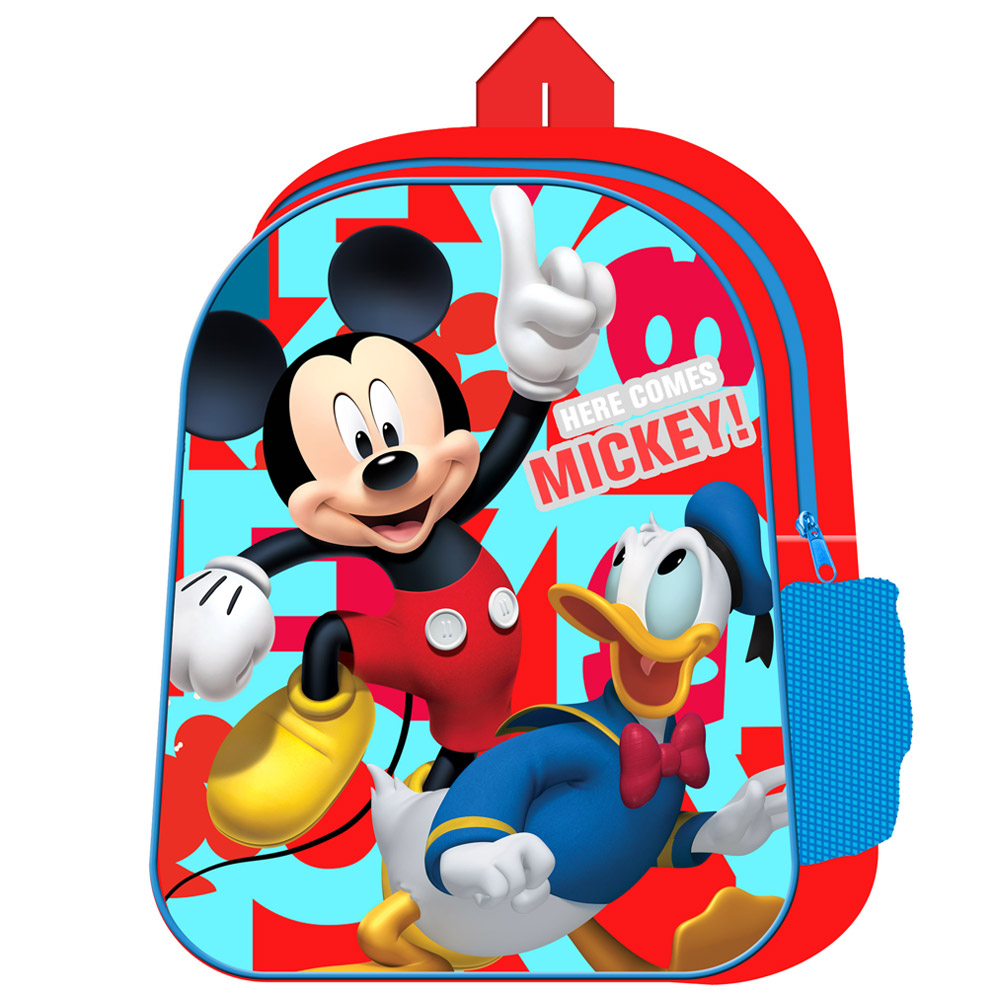 Mickey with Mesh Side Pocket Junior Backpack