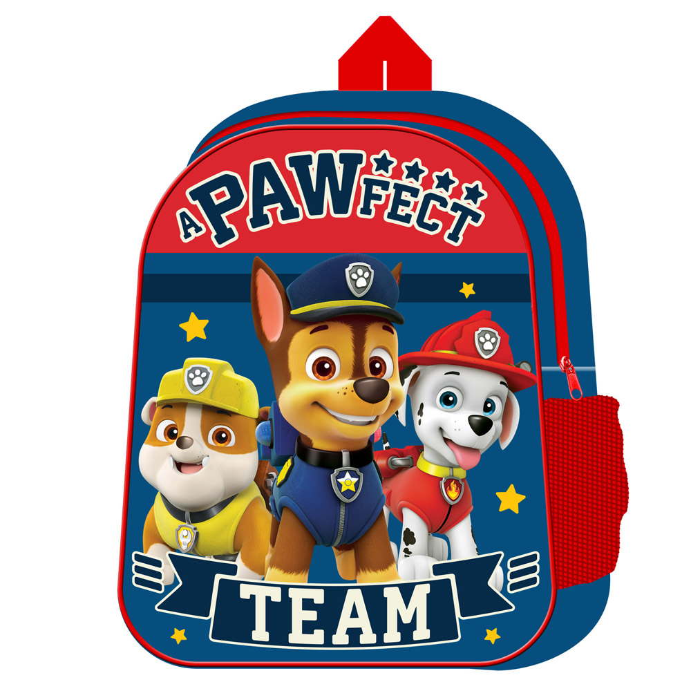Paw Patrol With Mesh Side Pocket Junior Backpack