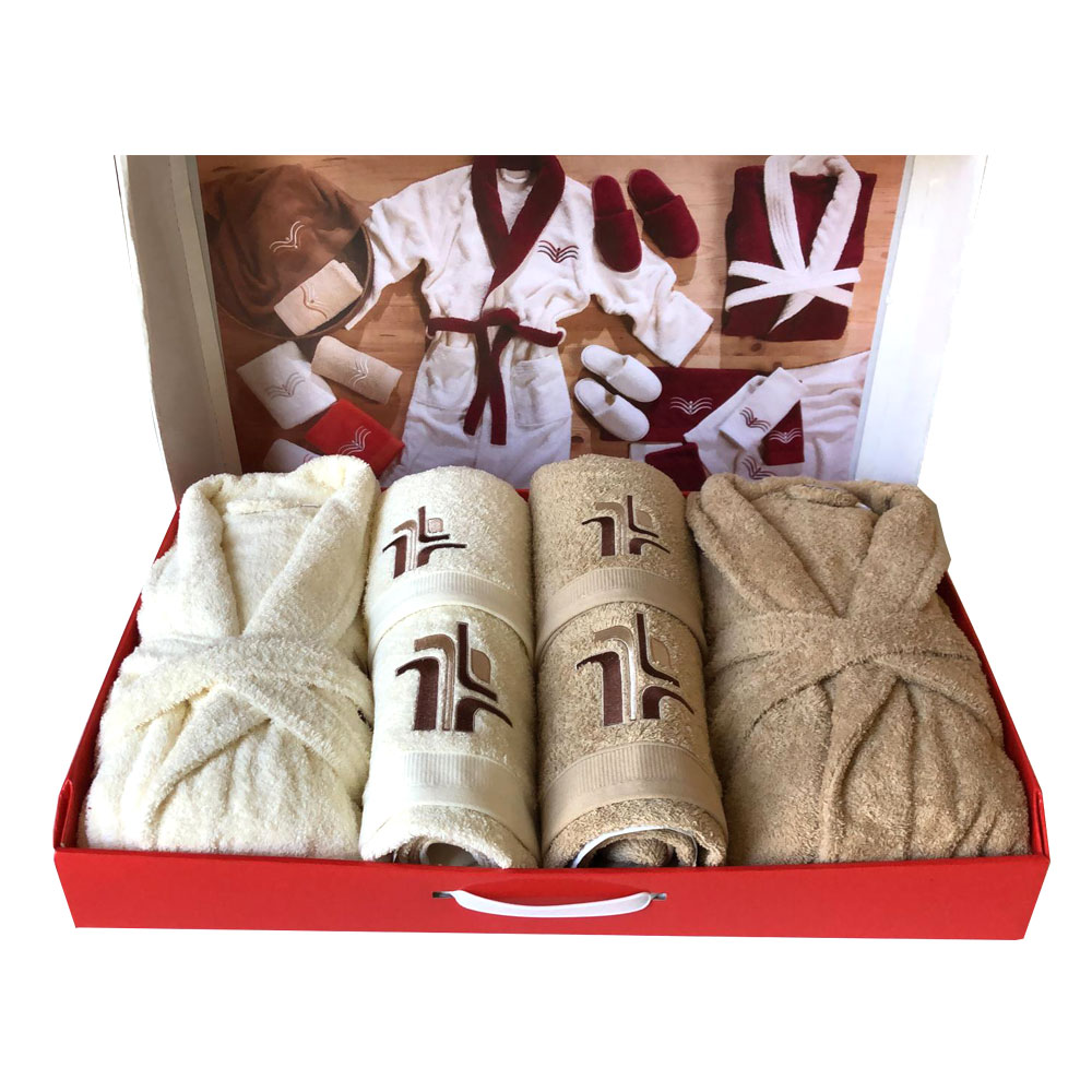 Westward Ho! 10 Piece Aztec Boxed Towel Set