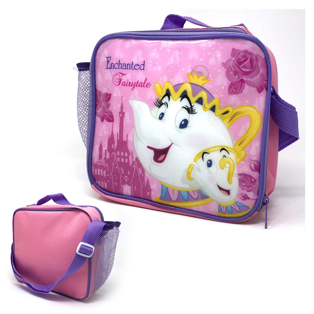 Mrs Potts Mesh Side Pocket and Strap Lunch Bag