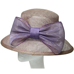 Sinnamay Ladies Hat with Bow