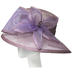 Sinnamay Ladies Hat with Flower Bow
