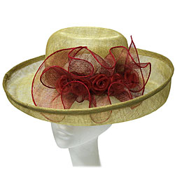 Sinnamay Ladies Hat with Elegant Bow