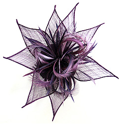 Flower Bow Fascinator