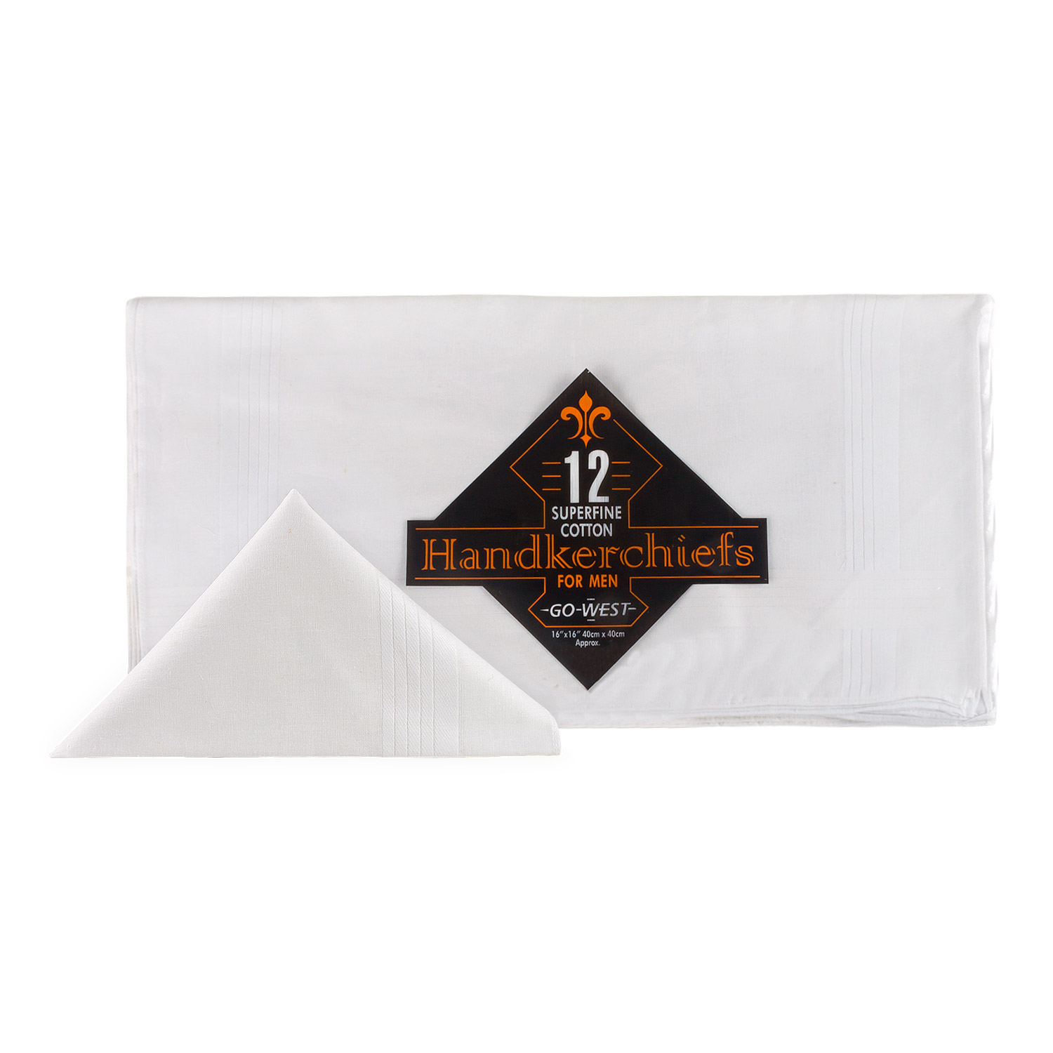 Men's Superfine Woven Hankerchiefs