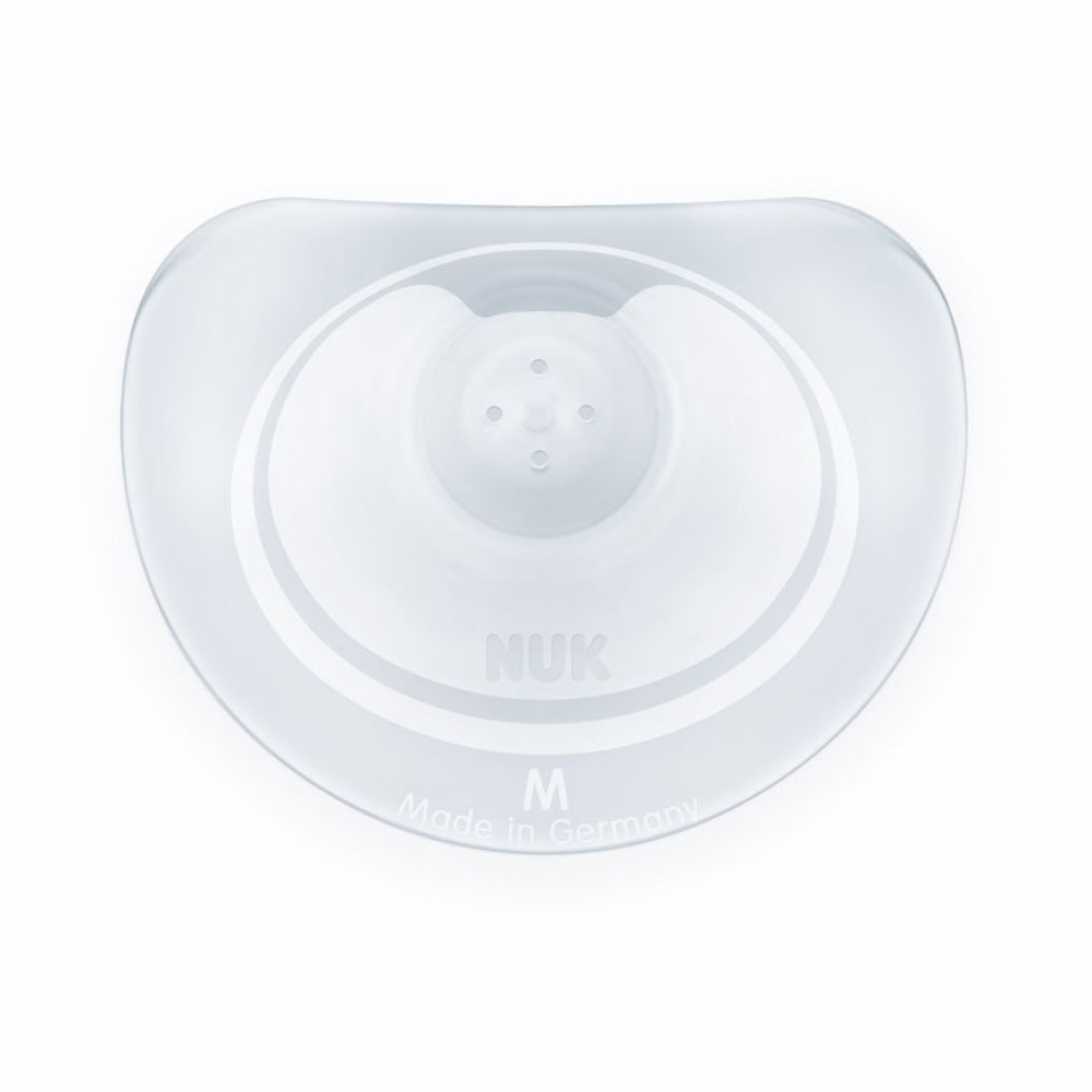 Nuk Nipple Shields Silicone 2 Pack