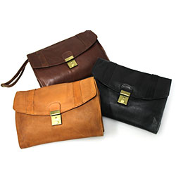 Le Sabbi Waxed Leather Pouch